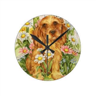 Relógio Redondo Nenhuns cães!