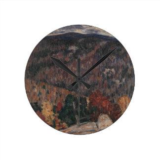 Relógio Redondo No. 25 da paisagem
