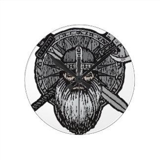 Relógio Redondo noruegueses nórdicos germânicos do homem de