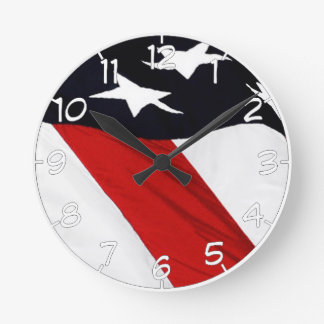 Relógio Redondo Nossa bandeira