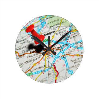 Relógio Redondo Nuremberg, Nürnberg Alemanha