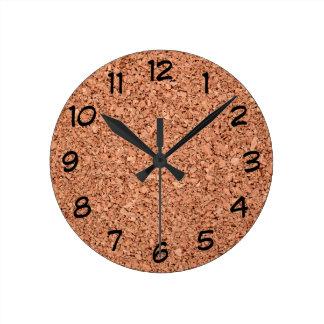 Relógio Redondo O conselho da cortiça