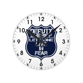 Relógio Redondo O deputado xerife não deixou nenhuns viver na
