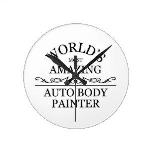 0066ebe42b9 Relógio Redondo O grande auto pintor do mundo