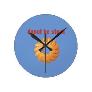 Relógio Redondo O hipster não faz