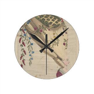 Relógio Redondo O jardim - Matthew Darly