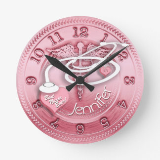 Relógio Redondo O melhor pulso de disparo da enfermeira