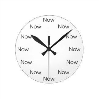 Relógio Redondo O Now é Zen™ - budista da taoísta do Mindfulness