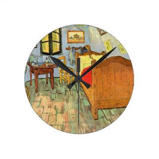 Relógio Redondo O quarto de Van Gogh