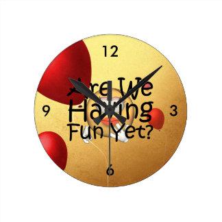 Relógio Redondo O T é nós que temos o divertimento ainda