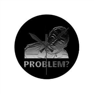 Relógio Redondo Obteve um problema?