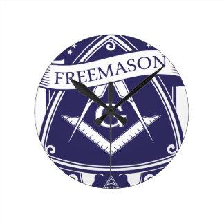 Relógio Redondo Olho devista de Illuninati do Freemason
