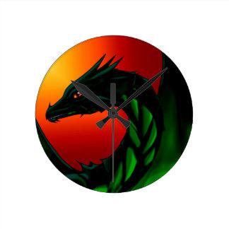 Relógio Redondo Olho do dragão