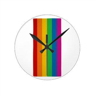 Relógio Redondo Orgulho de LGBT