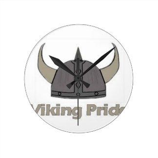 Relógio Redondo Orgulho de Viking