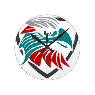 Relógio Redondo Orgulho e proteção de Eagle