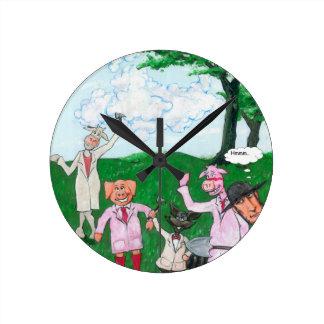 Relógio Redondo Os suspeitos do fazendeiro