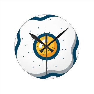 Relógio Redondo Ovo