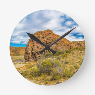 Relógio Redondo Paisagem Patagonian, Argentina