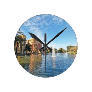 Relógio Redondo Palácio de San Fransisco das belas artes