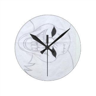 Relógio Redondo palhaço assassino