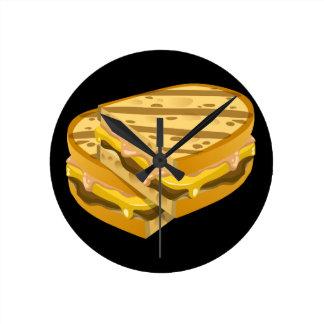 Relógio Redondo Panini óbvio da comida do pulso aleatório