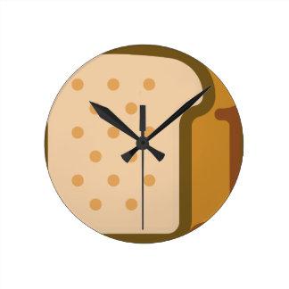 Relógio Redondo Pão