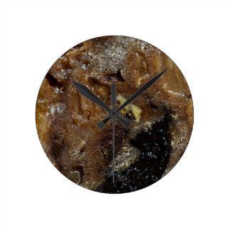 Relógio Redondo Pão alemão da fruta