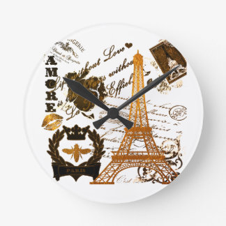 Relógio Redondo Paris: Excursão Eiffel do La