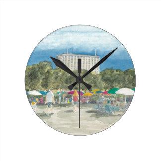 Relógio Redondo Parque tailandês Berlim