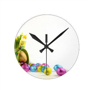 Relógio Redondo Páscoa