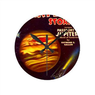 Relógio Redondo Passaporte a Jupiter
