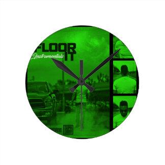 Relógio Redondo Pavimente-o cobrir dos Instrumentals