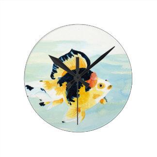Relógio Redondo Peixe dourado