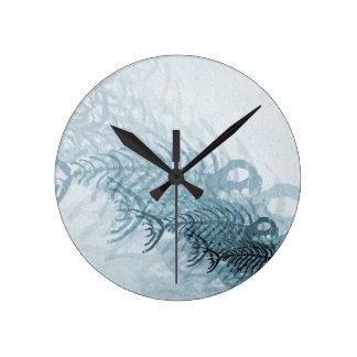 Relógio Redondo Peixes e ossos
