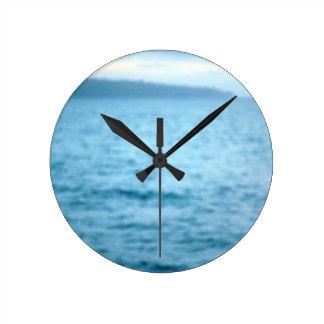 Relógio Redondo pelicano pacífico