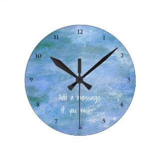 Relógio Redondo Personalize o seu