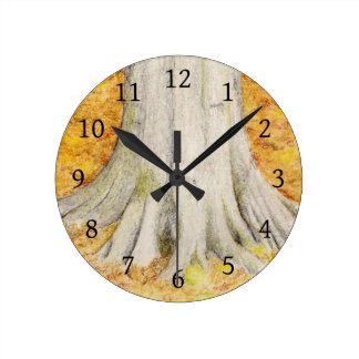 Relógio Redondo Pés da faia