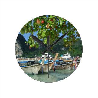 Relógio Redondo Phiphiisland_card