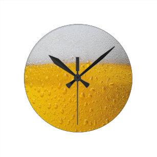 Relógio Redondo Pinta da cerveja