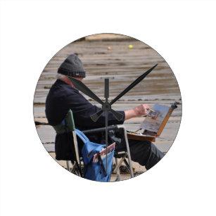 c27c2194eec Relógio Redondo pintor de St Ives