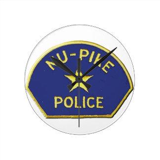 Relógio Redondo Polícia de NU-Pike