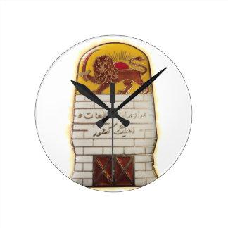 Relógio Redondo Polícia secreta persa SAVAK