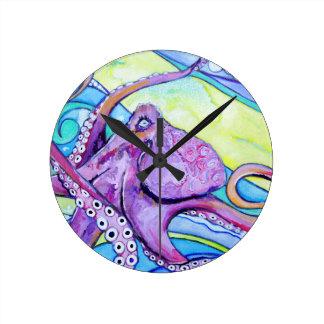 Relógio Redondo Polvo de Surfin