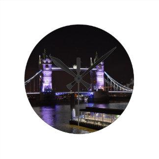 Relógio Redondo Ponte da torre, Londres