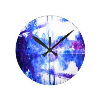 Relógio Redondo Ponte dos sonhos do amante a em qualquer lugar