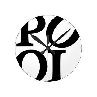 Relógio Redondo pool