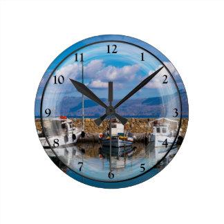 Relógio Redondo Porto velho de Kissamos