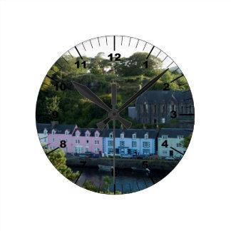 Relógio Redondo Portree bonito scotland