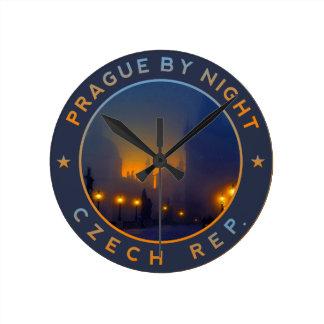 Relógio Redondo Praha by Night